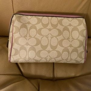 COACH Make Up Cosmetic Bag